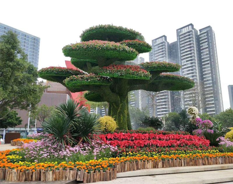 江苏立体花坛